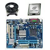 Kit Placa de Baza Refurbished GIGABYTE GA-G41MT-D3, Intel E6550, Cooler